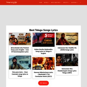 Telugulyrics.net thumbnail