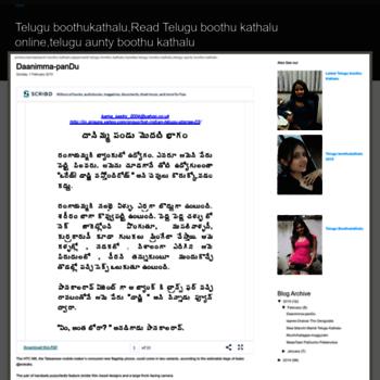 Teluguxboothukathalz.blogspot.com thumbnail