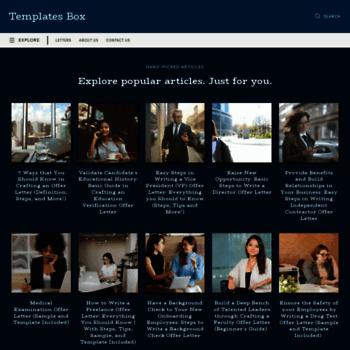 Templatesbox.com thumbnail