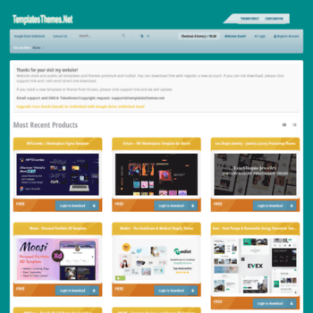 Templatesthemes.net thumbnail