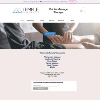 Templetherapeutics.ca thumbnail