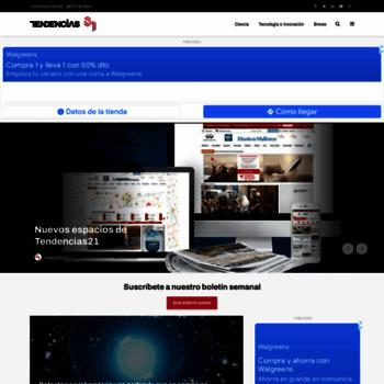 Tendencias21.net thumbnail