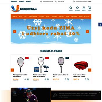 732a73a81 tenisista.pl at WI. Sklep tenisowy online: sprzęt i akcesoria do ...