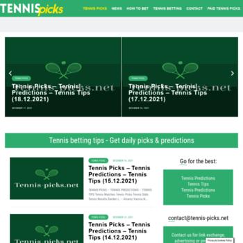 Tennis-picks.net thumbnail