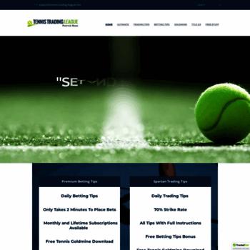 Tennis-trading-league.com thumbnail