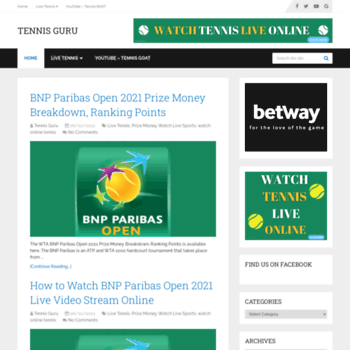 Tennisguru.net thumbnail