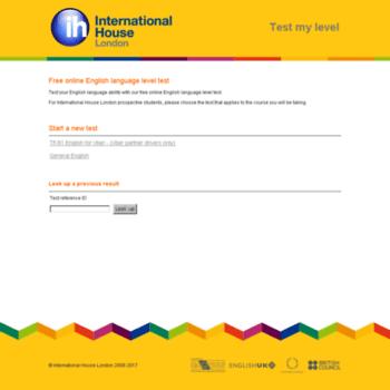 testmylevel com at WI  Free online English language level