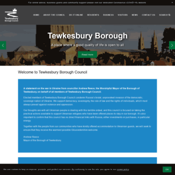 Tewkesbury.gov.uk thumbnail