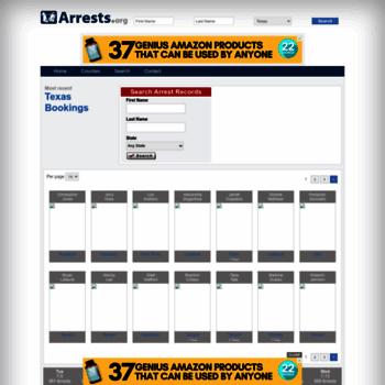 Texas.arrests.org thumbnail