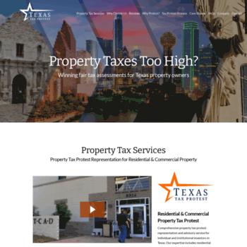 texastaxprotest com at WI  Texas Tax Protest Texas Tax