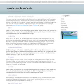 Texteschmiede.de thumbnail