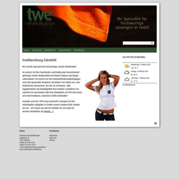 Textilwerbung-edenfeld.de thumbnail
