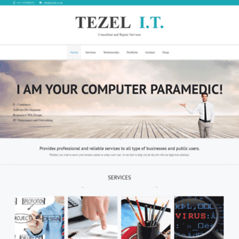 Tezelit.co.uk thumbnail