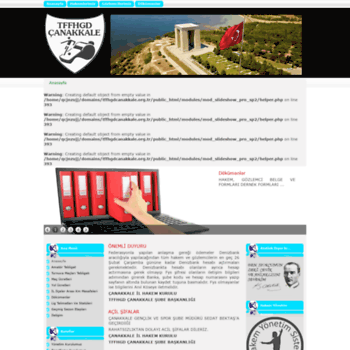 Tffhgdcanakkale.org.tr thumbnail