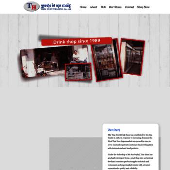 thaihuot com at WI  Home - Thai Huot Trading Co, Ltd