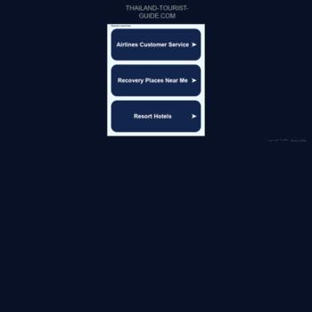 thailand-tourist-guide com at WI  Thailand Travel Guide