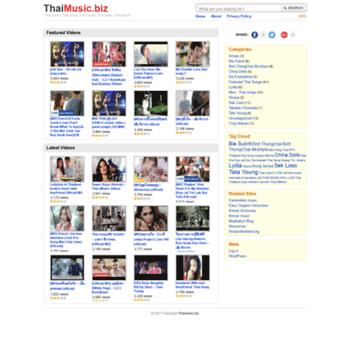 Thaimusic.biz thumbnail