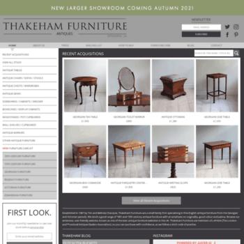 Thakehamfurniture.co.uk thumbnail