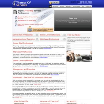 Thamescvservices.co.uk thumbnail