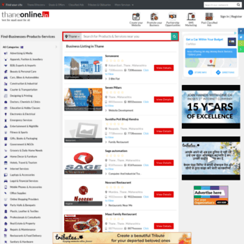 thaneonline in at WI  Thane, Thane Directory, Thane Yellowpages
