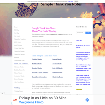 thank you note examples wording ideas com at wi sample thank you