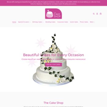 The-cakeshop.co.uk thumbnail