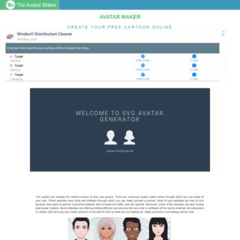 theavatarmaker com at WI  Avatar Maker - Create Free Avatar