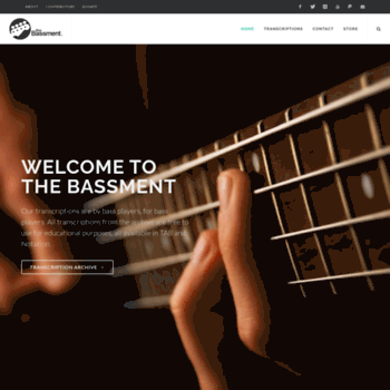thebassment info at WI  The Bassment | Free Bass Guitar