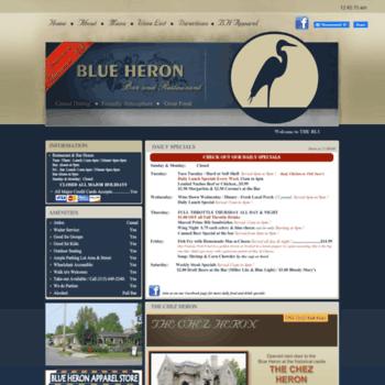 Theblueheronrestaurant.com thumbnail