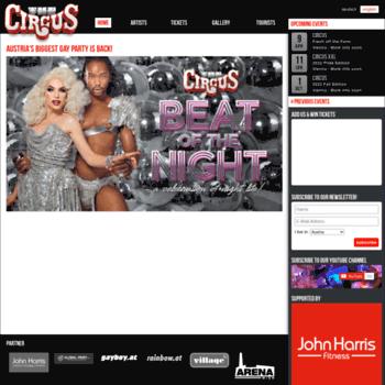 Thecircus.at thumbnail
