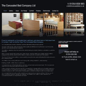 Theconcealedbedcompany.co.uk Thumbnail