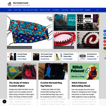 thecrochetcrowd com at WI  The Crochet Crowd   Free Crochet Patterns