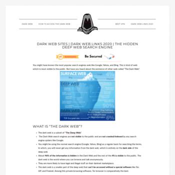 thedarkwebsites com at WI  Dark web Sites | Dark Web Links 2018