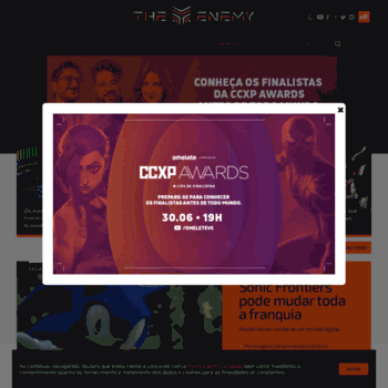 Theenemy.com.br thumbnail