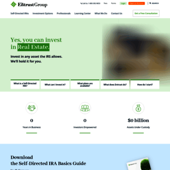 theentrustgroup com at WI  The Entrust Group | Self-Directed