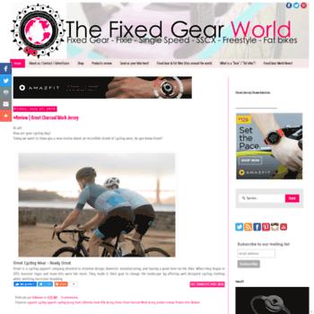 Thefixedgearworld.com thumbnail