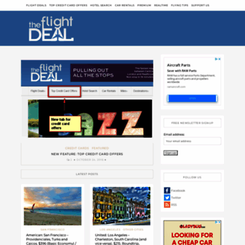 The Flight Deal >> Theflightdeal Com At Wi The Flight Deal Just Because