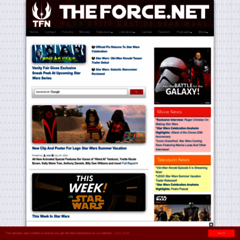 Theforce.net thumbnail