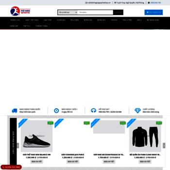 6e2c33ccc65 thegioigiaythethao.vn at WI. Hệ thống phân phối và bán lẻ Giày Thể ...