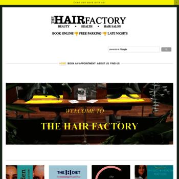 Thehairfactoryredditch.co.uk thumbnail