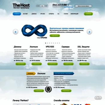 Thehost.com.ua thumbnail
