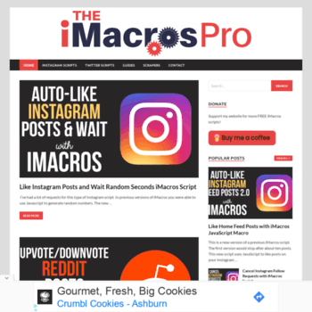 theimacrospro com at WI  Home - The iMacros Pro - Free