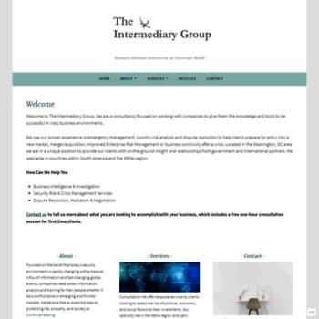 Theintermediarygroup.com thumbnail