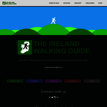 Theirelandwalkingguide.com thumbnail