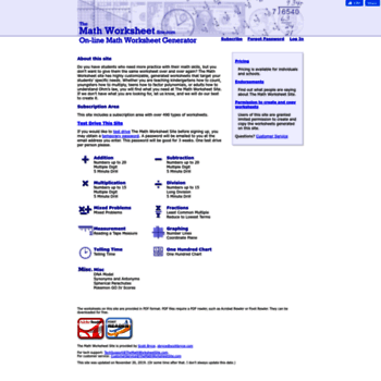 themathworksheetsite.com at WI. The Math Worksheet Site.com