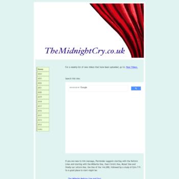 Themidnightcry.co.uk thumbnail
