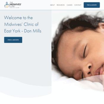 Themidwivesclinic.ca thumbnail