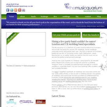 Themusicquarium.co.uk thumbnail