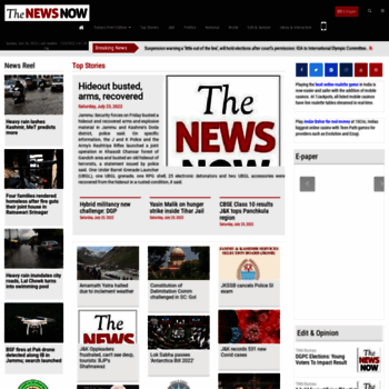 Thenewsnow.co.in thumbnail