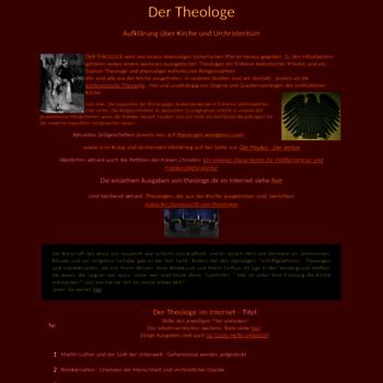 Theologe.de thumbnail